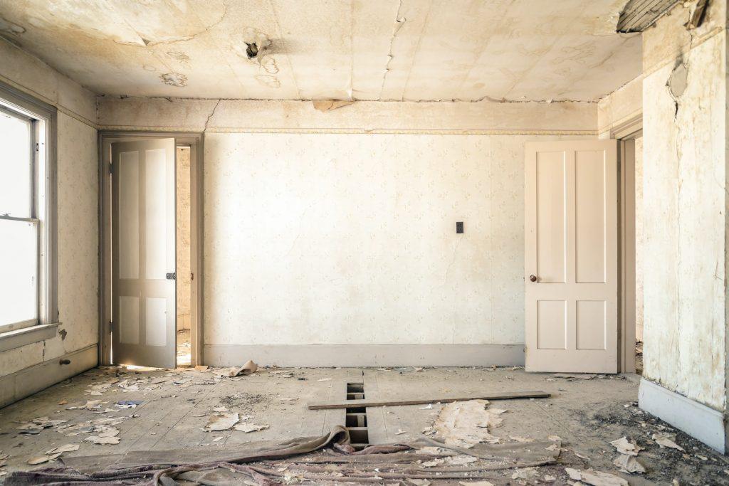 Home renovation waste. Skip bin the waste Tango